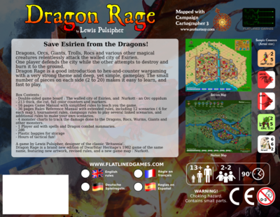 Dragon Rage Game Box Bottom