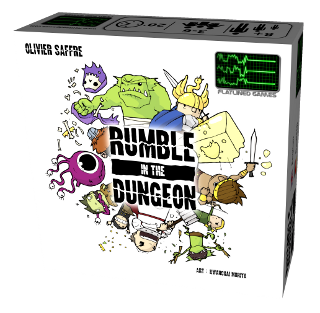 Rumble in the Dungeon box