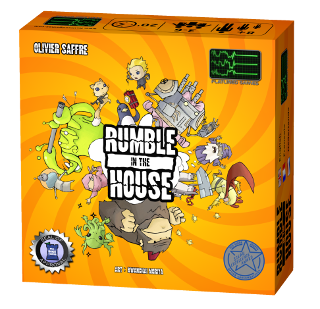 Rumble in the House box