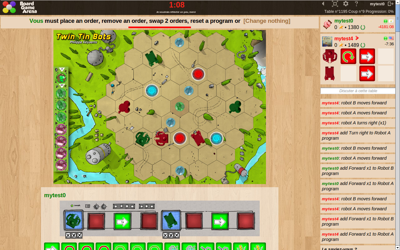 Twin Tin Bots free to play web version now available    Flatlined Games